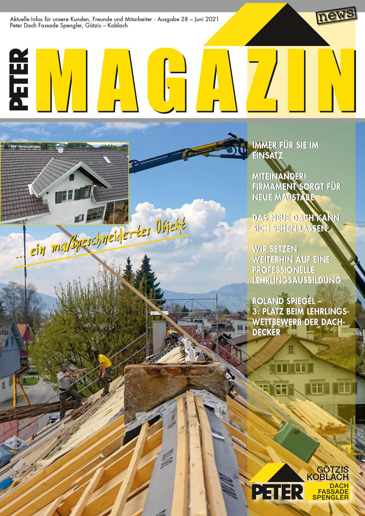 Peter-Dach-Spenglerei-Vorarlberg-Magazin-Juni-2021