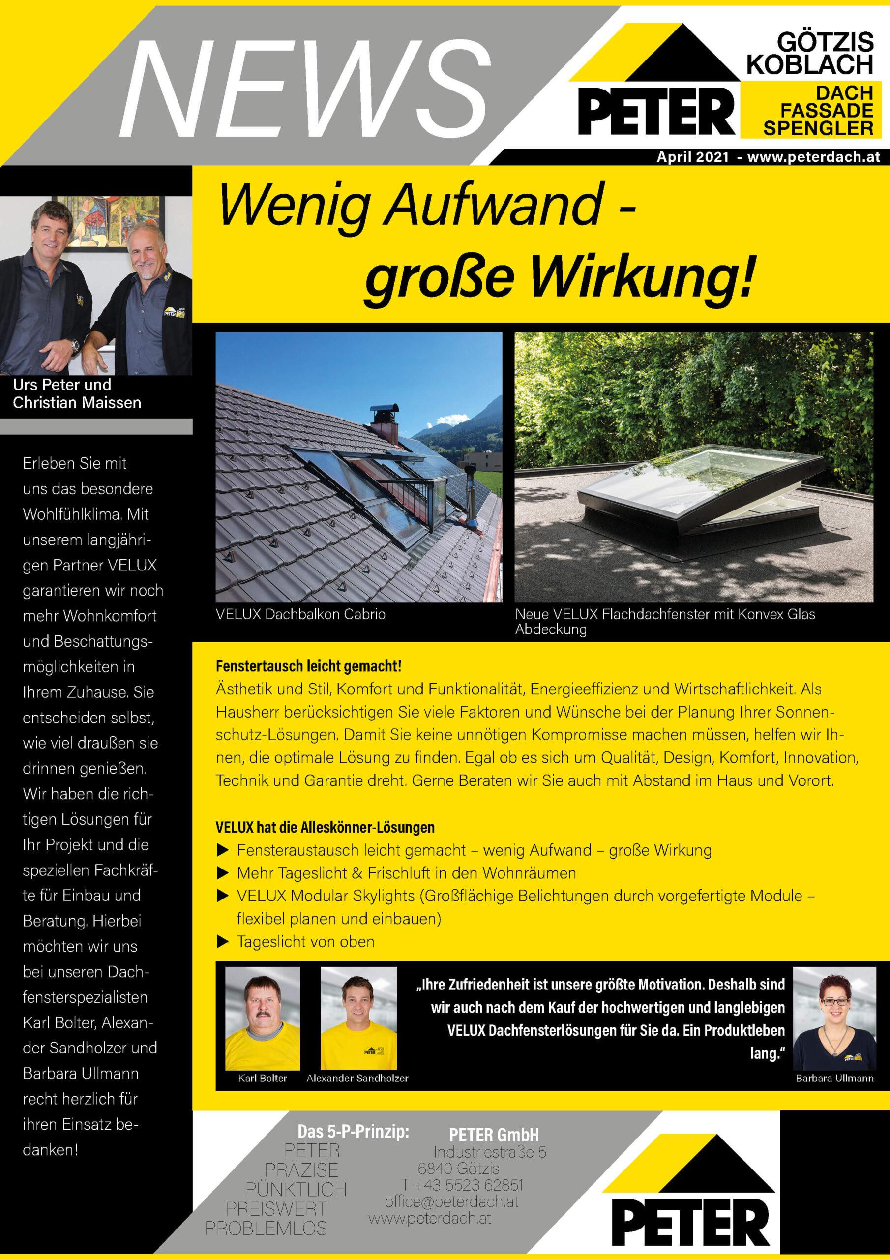 Peter-Dach-Spenglerei-Vorarlberg-News_2104_KW 15