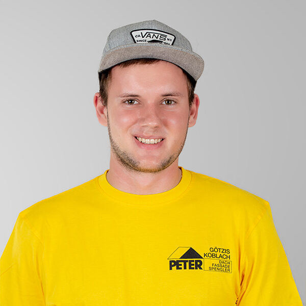 Stefan Erhard, Vorarbeiter, Peter Dach Team Vorarlberg, Götzis, Fassade, Spenglerei, Dachdecker, Dachfenster, Rheintal