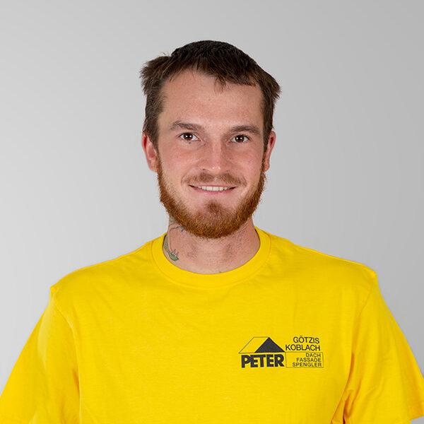 Thomas Fend, Vorarbeiter, Peter Dach Team Vorarlberg, Götzis, Fassade, Spenglerei, Dachdecker, Dachfenster, Rheintal